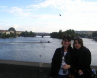 Emma and Antonia in Prague